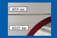 超精细含有助焊剂核心的锡线